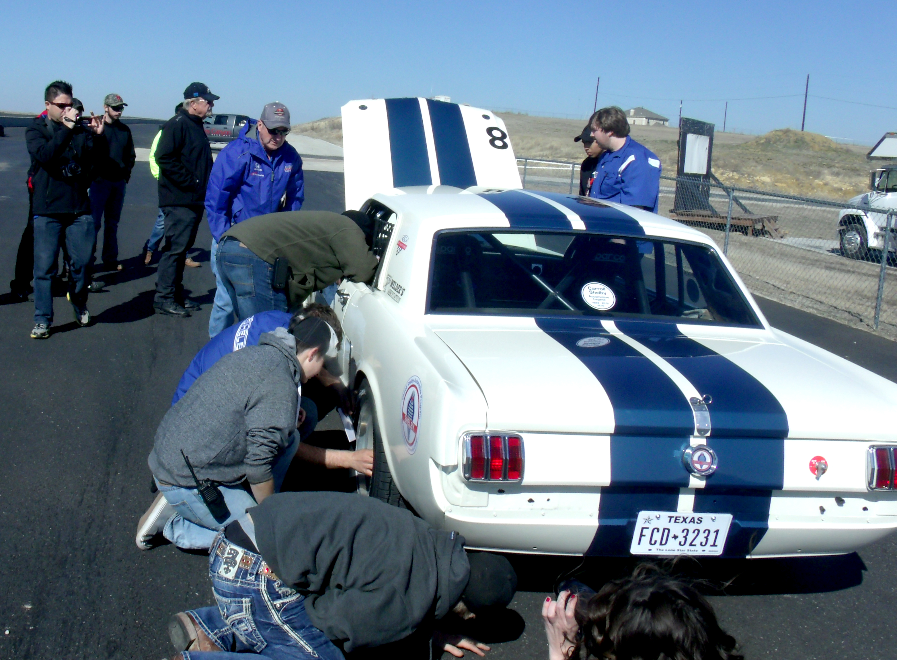 Carroll Shelby Program puts Panamericana car to the test