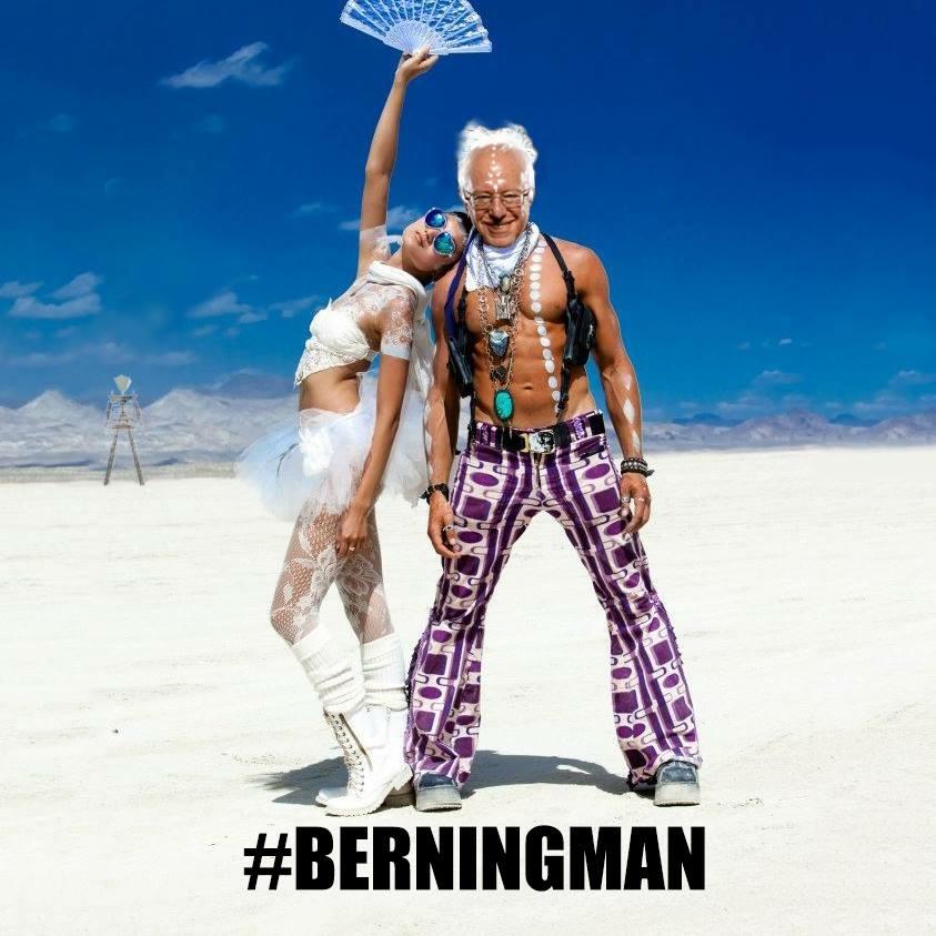 #Berningman