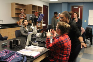 New biology labs in UHS offer high tech scopes
