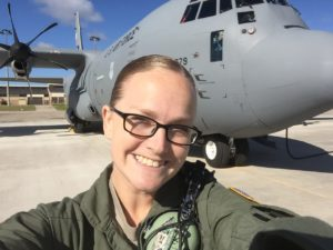 Air Force veteran prepares for second career