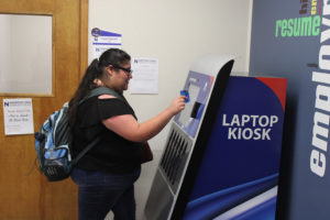 Students rent laptops free of charge