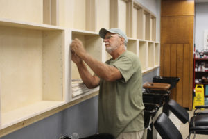 Construction moves  forward in Cosmetology department